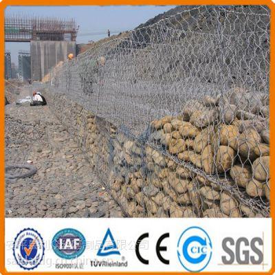河道生态治理格宾网 pvc覆塑格宾网箱 水利治理镀锌格宾石笼网