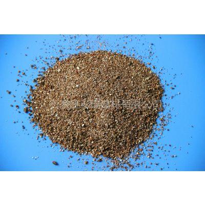 厂家直销蛭石 金黄色膨胀蛭石 0.5-3mm园艺育苗蛭石