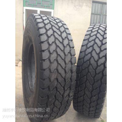 厂家直销 14.00R24 中块花纹 好运通 全钢丝轮胎 起重机轮胎
