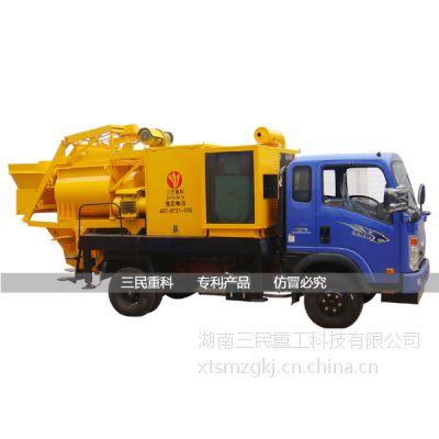 供应混凝土搅拌拖泵|带搅拌机的混凝土输送泵