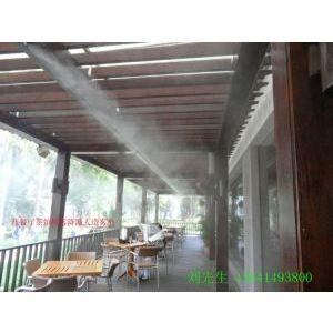 供应西餐厅茶馆咖啡厅生态餐厅户外餐厅喷雾降温设备