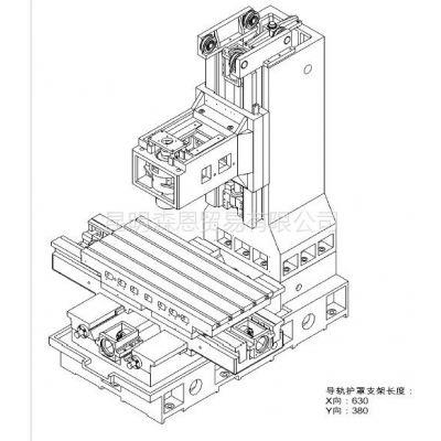 供应台正立式加工中心光机TOM-1060工作台面尺寸 600*1300