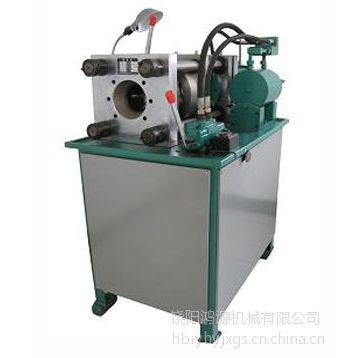 供应DSG-75大口径锁管机(6-75mm) ,矿山液压支柱油管扣压机