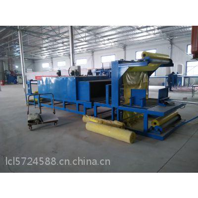 河北晶淦机械设备厂生产销售发泡水泥保温板热收缩膜包装机价格