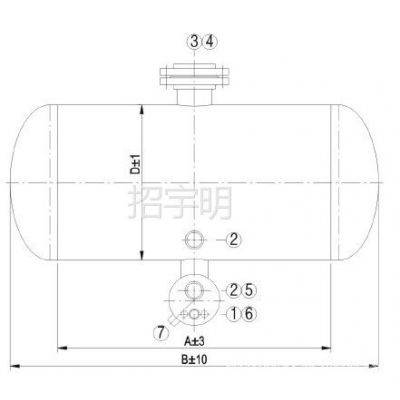 """供应【厂家销售】广州恒星集团""""联合""""卧式二次油分离器--冷水机配件"""