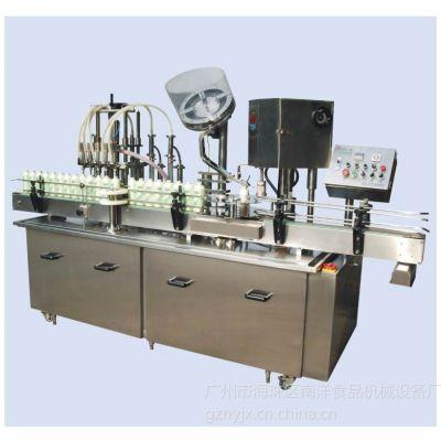 广州南洋自动液体灌装锁盖生产线规格齐全