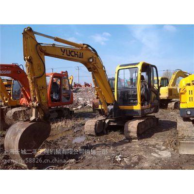 出售二手挖掘机,二手玉柴60-7挖掘机TEL:15800839606