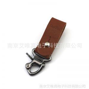 供应CooYoo Lear II型 创意手工钥匙扣 牛皮 男士纯牛皮腰带扣