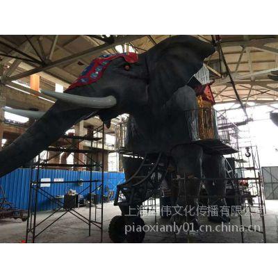 机械大象出租仿生机械象租赁真实动态展示