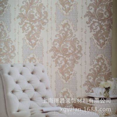 上海雅兰墙纸新款上市 温馨卧室客厅壁纸 厂家现货批发 热销