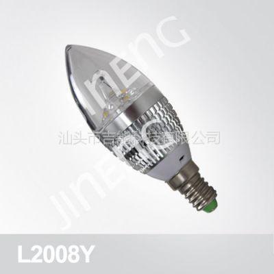 供应【吉能科技】LED3W节能j蜡烛灯—L2008Y