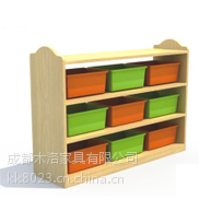 供应江油幼儿园家具玩具柜来图定做