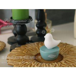 供应创意生日礼物批发 宠物陶瓷香薰 适用家居用品