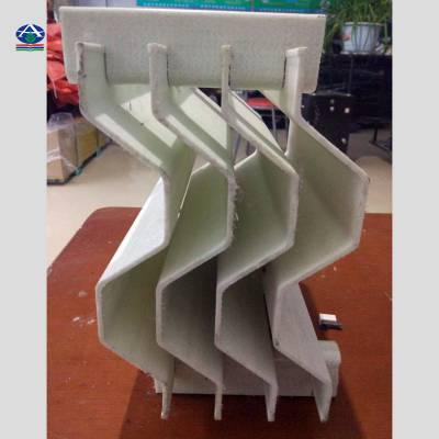 供应三通道玻璃钢除雾器 耐温150度除雾器 华强烟道折流板