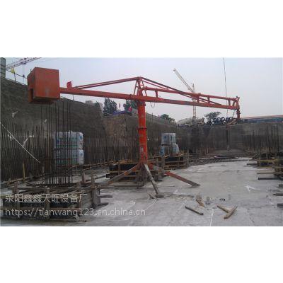 吉林白城鑫旺十二米大臂长混凝土散料用建筑设备