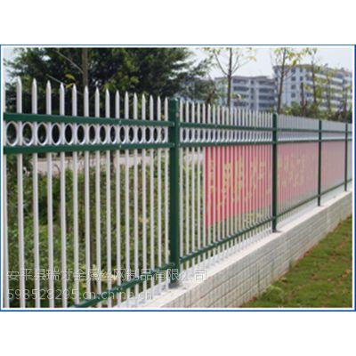 供应新款多样公园锌钢围栏网铁艺护栏规格