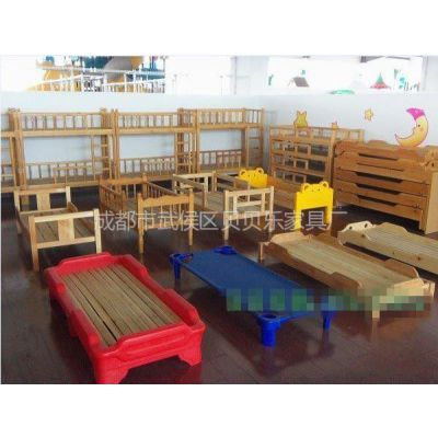 供应眉山|雅安|乐山幼儿园床、幼儿园家具、玩具柜、书包柜、桌椅板凳