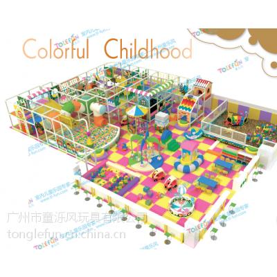 童乐风定制商场大型室内儿童淘气堡海绵游乐设备 森林主题设备热销中