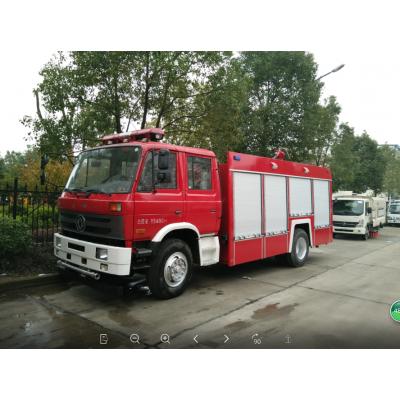 东风国五排放水罐消防车罐体容积1.5吨-10吨