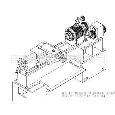 供应台正平床身卧式数控车床光机TOM-TXCK6150/750加工长度750