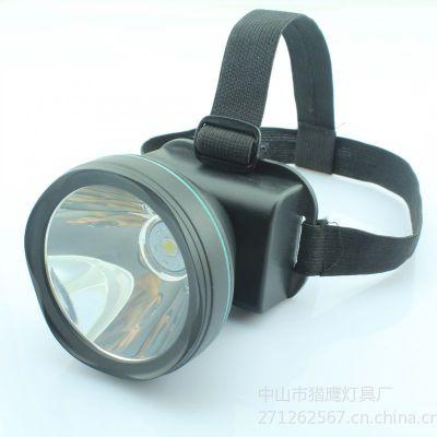 供应锂电池头灯 强光5W LED头灯 充电打猎灯 钓鱼灯矿灯18650 强光充电头灯 多用途强光头灯