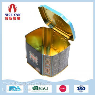 厂家定制马口铁盒 食品保健品马口铁包装铁罐供应