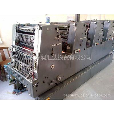 供应进口海德堡1985年产4色8开GTOV 52型胶印机