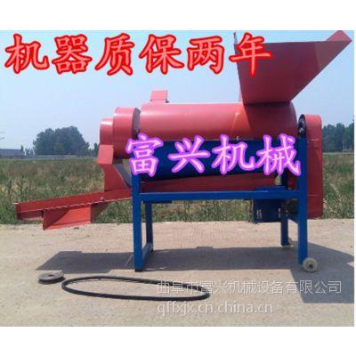 宿州75型小麦水稻脱粒机 富兴小麦脱粒机 麦子豆子多功能打场机厂家型号
