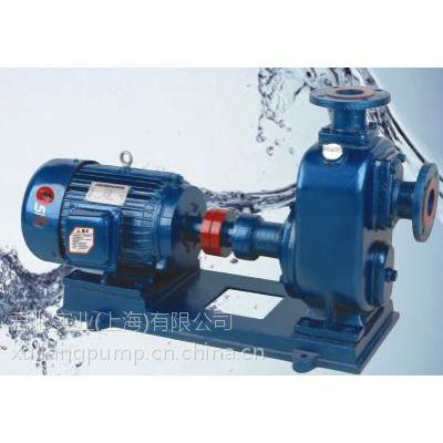 ZW型自吸式无堵塞自吸泵,自吸泵,无堵塞排污泵