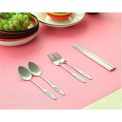 日式清新圆角中西餐垫欧盟环保验证、出口包装OPP袋可以定制形状