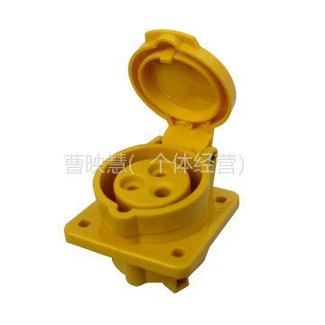 供应工业插座(直装式)YGZM-017A