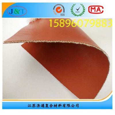 大量供应优质钢丝玻纤硅胶布