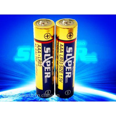 LR03 AAA 7号碱性电池 厂家直销 出口电池 MSDS、SGS、海运、空运