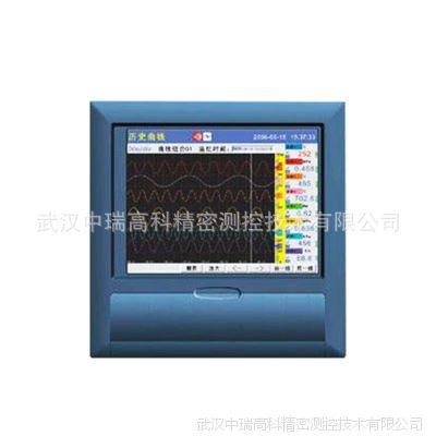 现货出售 香港上润WP-R303C彩屏无纸记录仪 小型中长图无纸记录仪