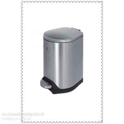 现货供应不锈钢椭圆脚踏垃圾桶,博新厂家优价现货供应!