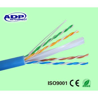 室内环保阻燃CAT6过fluke测试网线23AWG 0.57网络双绞线 奥德普厂家供应