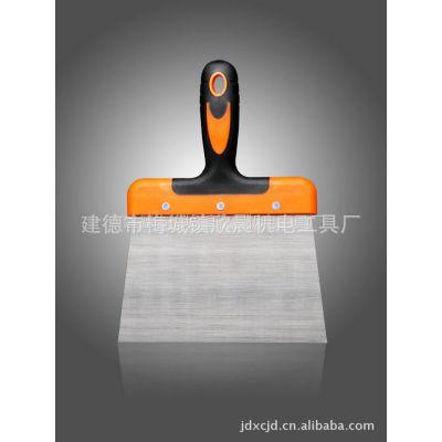 供应厂家直销 多种匠作工具 塑料铲刀 双色塑柄油灰刀