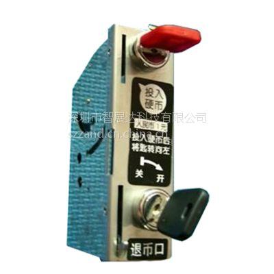 供应一元投币锁 寄存柜投币锁 超市储物柜投币锁 更衣柜投币锁