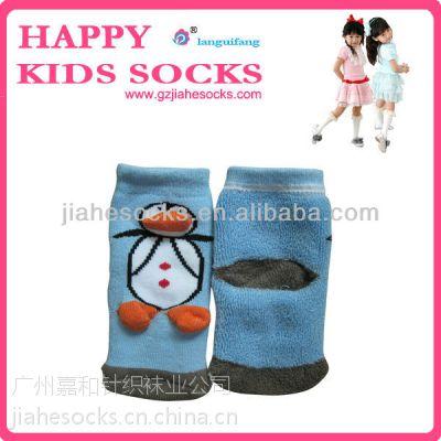 袜子厂家生产、加工、批发外贸保暖毛巾立体童袜
