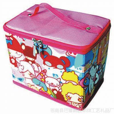 超低特价 复膜防水无纺布多用化妆箱 首饰收纳盒 0.3