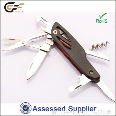 2014年新款多功能小刀方便携带小礼品促销赠品户外求生实用工具