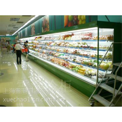武汉市雪弗尔 3米超市风幕柜保鲜柜 超市风幕柜价格多少哪里有卖水果冷藏保鲜柜