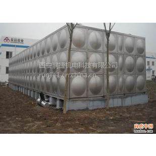 扶风玻璃钢水箱经销商 RV-46扶风消防水箱 润捷水箱