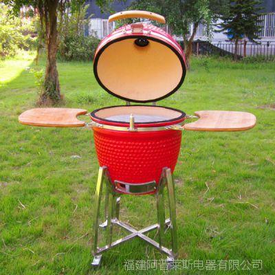 户外陶瓷烧烤炉  kamado bbq grill 厨房用品家具 木炭烧烤炉