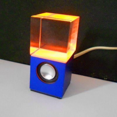 供应新款水晶音响   单个水晶高档礼品   电脑迷你音响