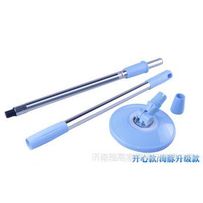 拖把杆批发 手压伸缩杆不锈钢好神拖扫把杆 拖把塑料配件代理