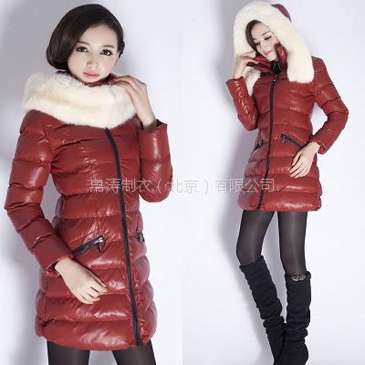 品牌羽绒服加工,北京户外冬装加工厂,帛涛服装加工生产羽绒服