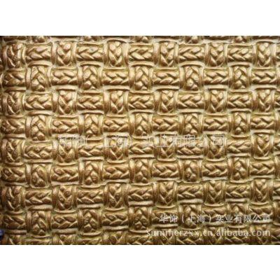 人造革PVC革供应,箱包手袋皮革材料面料,麻花编织纹革