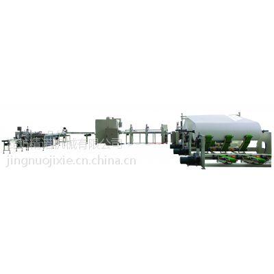 潍坊精诺机械供应3000型卫生纸生产线 多规格卫生纸加工设备 操作简单解放人工