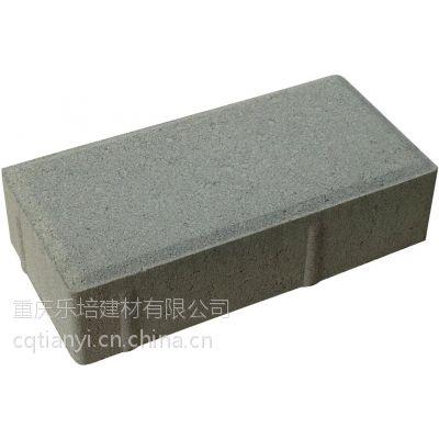 重庆透水砖 园林透水砖 红色透水砖 人行道透水砖 井字植草砖 草坪井盖